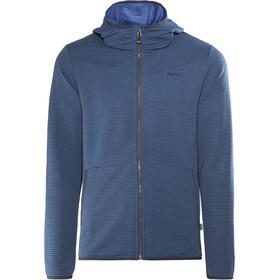Meru Serres Fleece Hoodie Heren, lapis blue